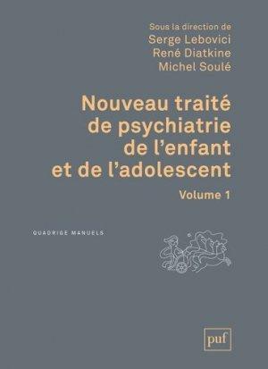 Nouveau traité de psychiatrie de l'enfant et de l'adolescent 4 Vol - puf - 9782130810087