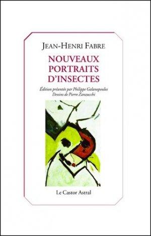 Nouveaux portraits d'insectes-castor astral-9791027802227