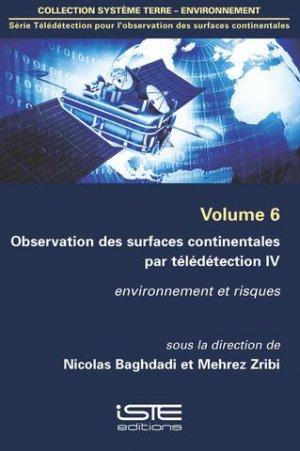 Observation des surfaces continentales par télédétection IV Volume 6 - iste - 9781784051617