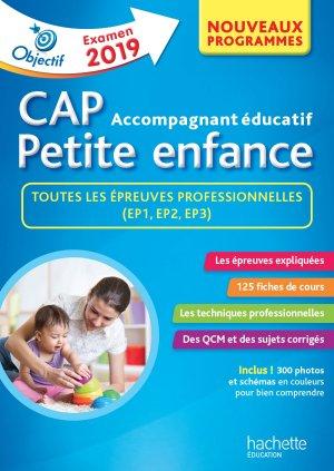 Objectif CAP Accompagnant Educatif Petite Enfance - épreuve professionnelle-hachette-9782017013389