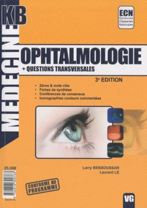 Ophtalmologie - Questions transversales - vernazobres grego - 9782818300763