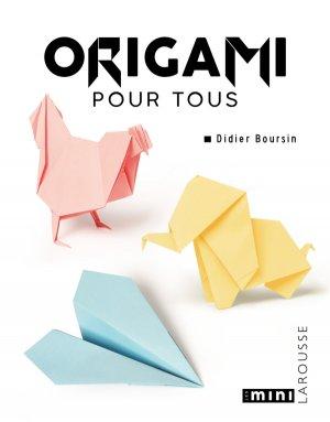 Origami pour tous-larousse-9782035899569