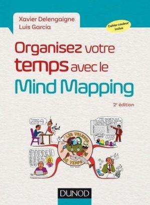 Organisez votre temps avec le Mind Mapping-dunod-9782100778348