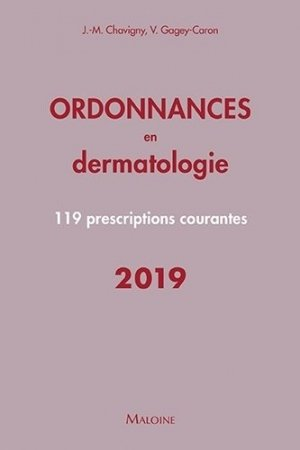 Ordonnances en dermatologie-maloine-9782224035594