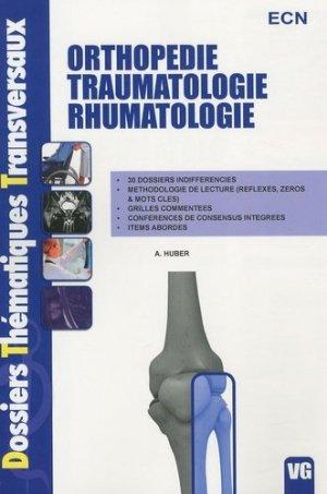 Orthopédie Traumatologie Rhumatologie-vernazobres grego-9782818300541