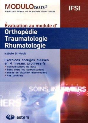 Orthopédie traumatologie rhumatologie - estem - 9782843712531