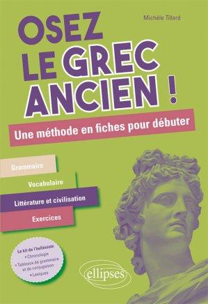 Osez le Grec Ancien - ellipses - 9782340023666