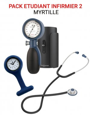 Pack Étudiant Infirmier 2 Myrtille - spengler - 2225638935564