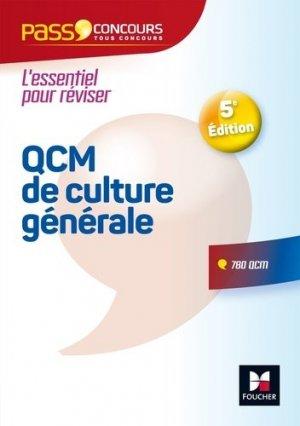 Pass'Concours - QCM de culture générale-foucher-9782216148042