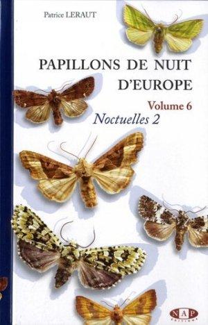 Papillons de nuit d'Europe - nap - 9782913688315