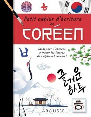 Petit cahier d'écriture en coréen-larousse-9782035956712