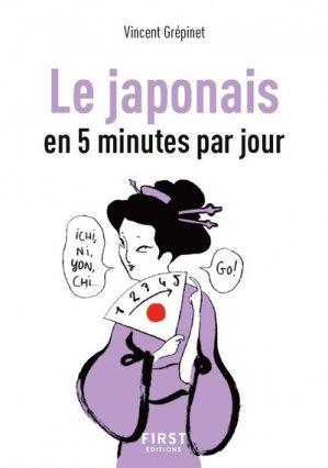 Le japonais en 5 minutes par jour-first-9782412041659