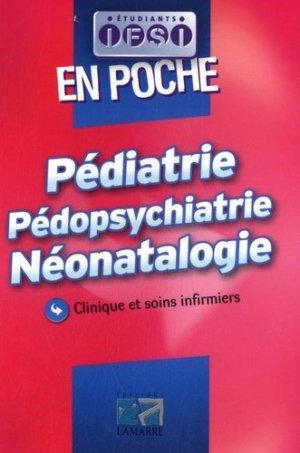 Pédiatrie Pédopsychiatrie Néonatalogie - lamarre - 9782757303955