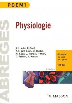 Physiologie-elsevier / masson-9782294020520