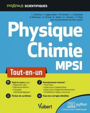 Physique-chimie MPSI-vuibert-9782311406863