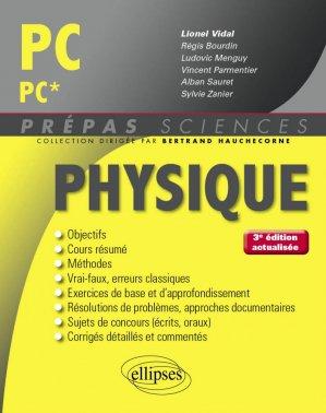 Physique PC - PC* - ellipses - 9782340016958