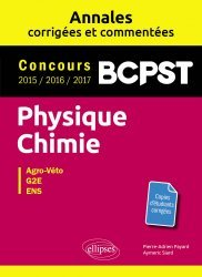 Physique-chimie BCPST-ellipses-9782340020030