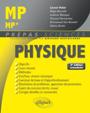 Physique MP - MP*-ellipses-9782340023963