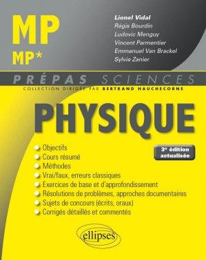 Physique MP - MP* - ellipses - 9782340023963