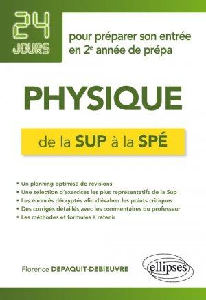 Physique de la Sup à la Spé-ellipses-9782340030923