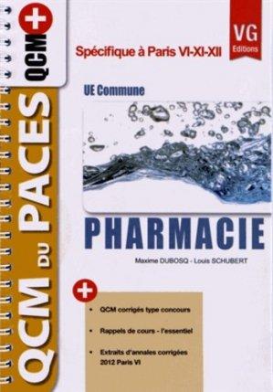Pharmacie UE Commune - vernazobres grego - 9782818306529