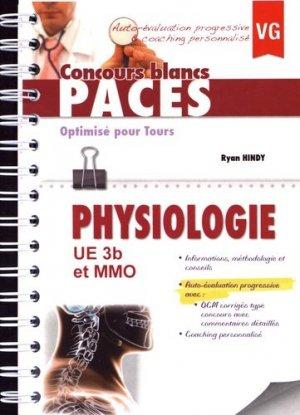 Physiologie UE3b et MMo - Optimisé pour Tours-vernazobres grego-9782818313336