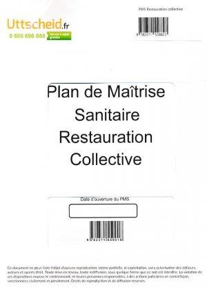 Plan de Maîtrise Sanitaire (PMS) Restauration collective-uttscheid-9782371558823
