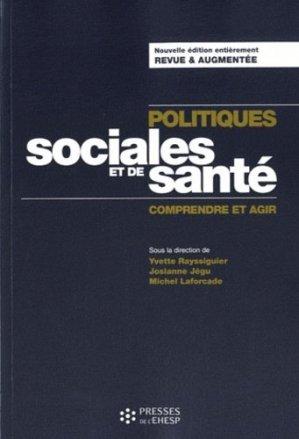 Politiques sociales et de santé - presses de l'ehesp - 9782810900718