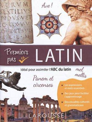 Premiers pas en latin-Larousse-9782035973153