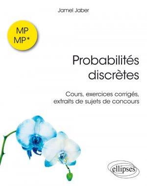 Probabilités discrètes MP-MP*-ellipses-9782340023802