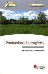 Productions fourragères - lavoisier / tec et doc - 9782743020811