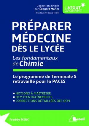 Préparer Médecine dès le lycée, les fondamentaux de Chimie-breal-9782749536811