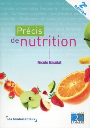 Précis de nutrition - lamarre - 9782757308424