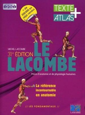 Précis d'anatomie et de physiologie humaines 2 volumes - lamarre - 9782757308486