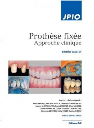 Prothese fixée - cdp - 9782843613142