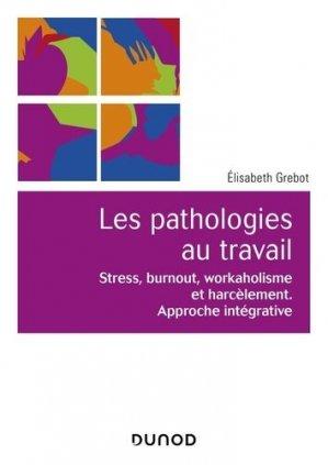 Psychopathologie du travail - dunod - 9782100791347