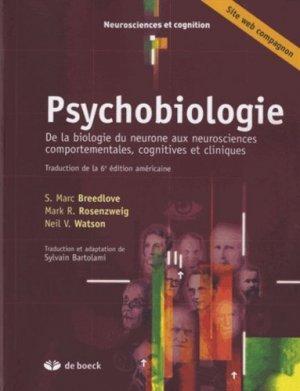 Psychobiologie - de boeck superieur - 9782804169244
