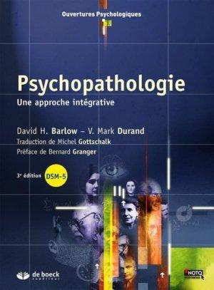 Psychopathologie - de boeck superieur - 9782807302532