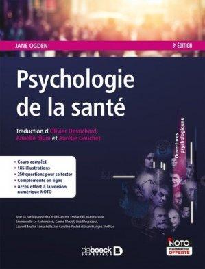 Psychologie de la santé - de boeck superieur - 9782807319394