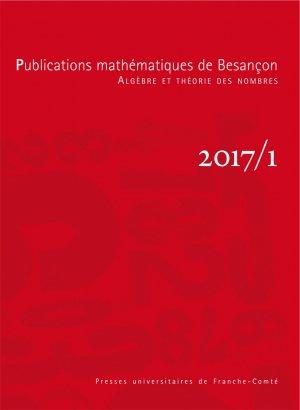 Publications mathématiques de Besançon-presses universitaires de franche-comté-9782848676081