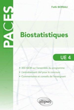 QCM de Biostatisques-ellipses-9782340022508