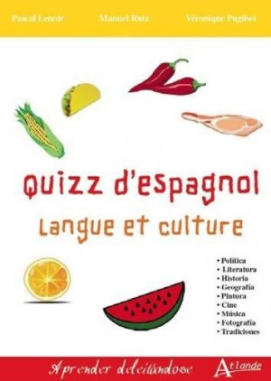 Quizz d'espagnol-atlande-9782350305189