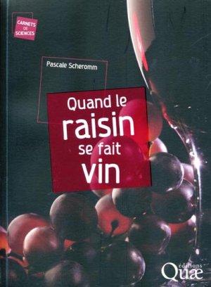 Quand le raisin se fait vin-quae -9782759209316