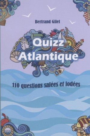 Quizz Atlantique - banquises and comètes - 9791094569054
