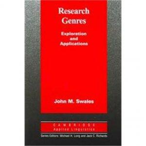 Research Genres-cambridge-9780521533348