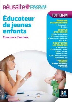 Réussite Concours Educateur de jeunes enfants - Concours d'entrée - foucher - 9782216145140