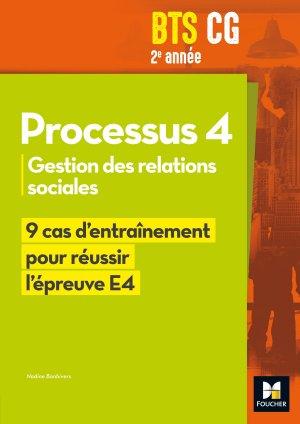 Réussir l'épreuve - PROCESSUS 4 BTS CG 1re et 2e années - foucher - 9782216147083