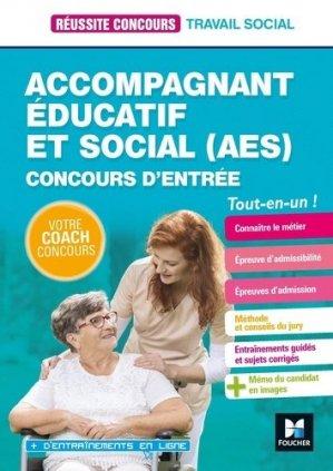 Réussite Concours - Accompagnant éducatif et social AES - 2020-2021-foucher-9782216154845