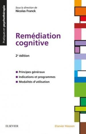 Remédiation cognitive-elsevier / masson-9782294750069