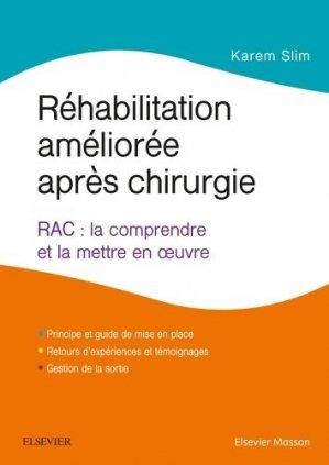 Réhabilitation améliorée après chirurgie-elsevier / masson-9782294761775
